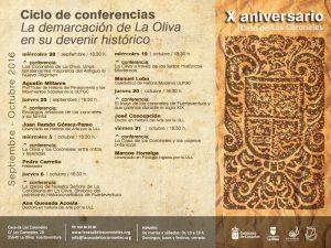 La demarcación de La Oliva en su devenir histórico