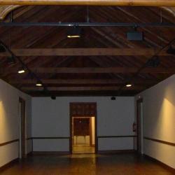 Vista del salón noble desde el Gabinete de la Marquesa