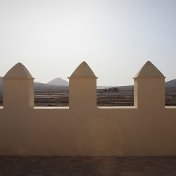 Almenas de la torre oste, detalle